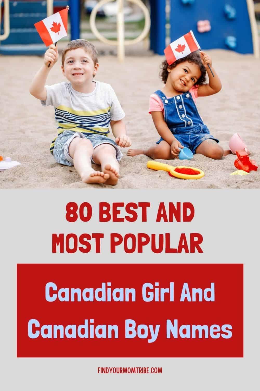 Pinterest canadian boy names