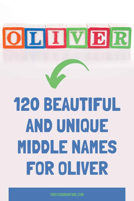 Pinterest middle names for oliver