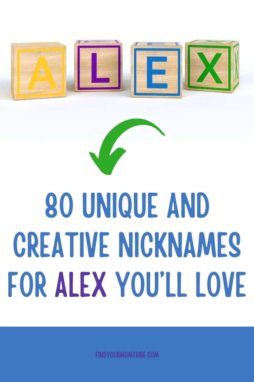 Pinterest nicknames for alex