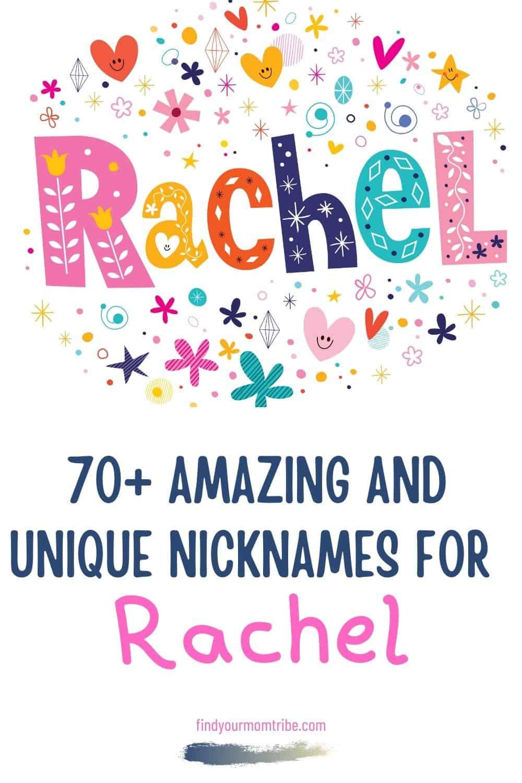 Pinterest nicknames for rachel