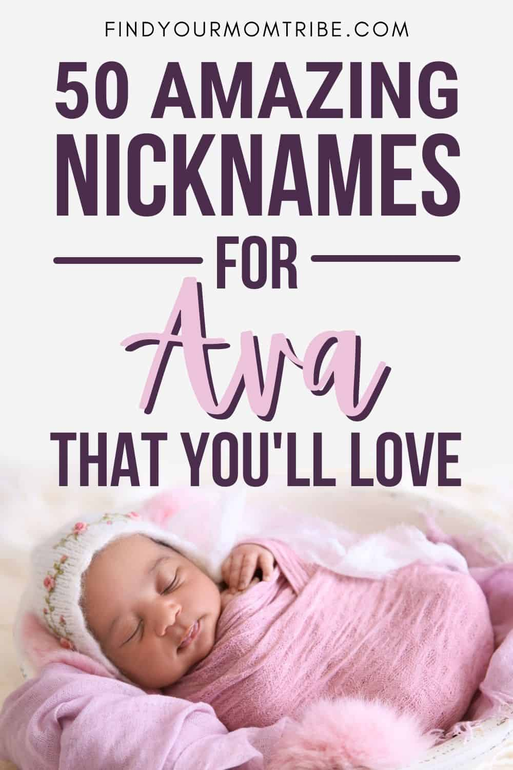 Amazing Nicknames For Ava You'll Fall In Love With Pinterest