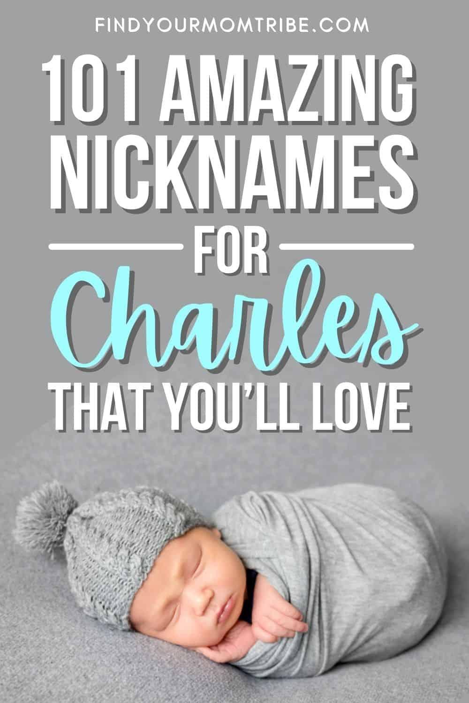 Best Nicknames For Charles That Work Wonderfully pinterest
