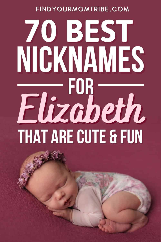 Interesting Nicknames For Elizabeth That You'll Love Pinterest