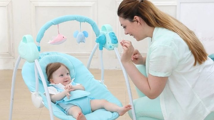 When And How To Use A Baby Swing: Safety Concerns