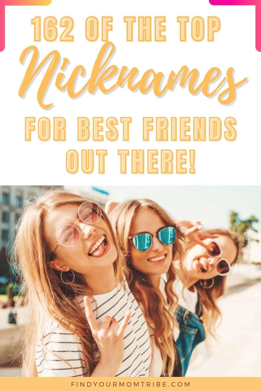 nicknames for best friends pinterest