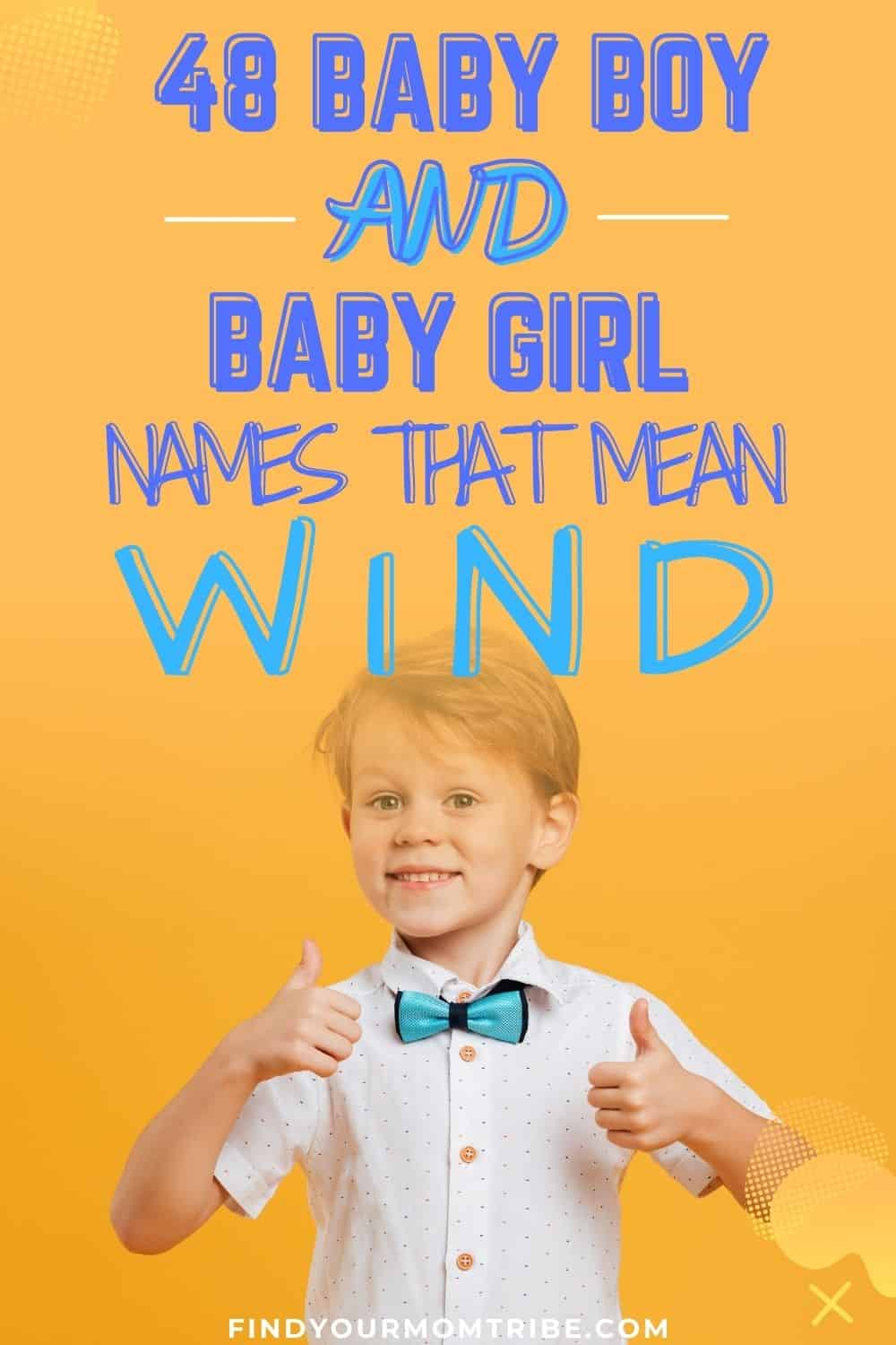 Names That Mean Wind pinterest