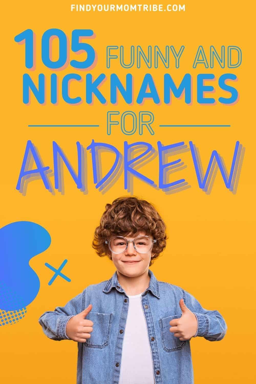 Nicknames For Andrew pinterest