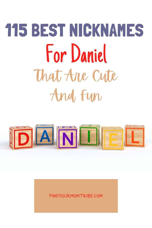 Pinterest nicknames for daniel