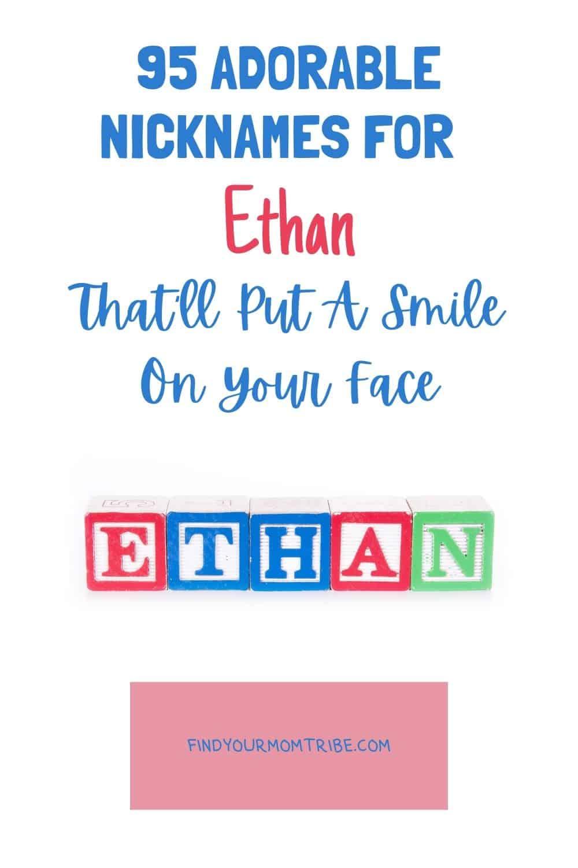 Pinterest nicknames for ethan