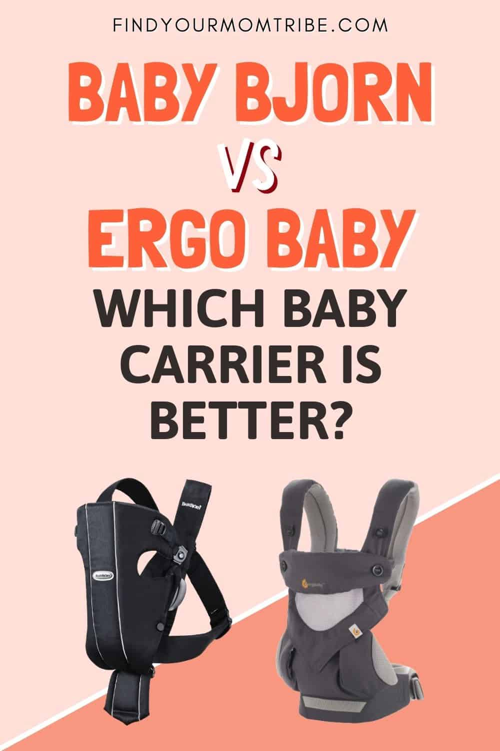 Baby Bjorn Vs Ergobaby: Which Baby Carrier Is Better Pinterest