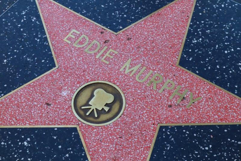 EDDIE MURPHY on Hollywood Walk of Fame