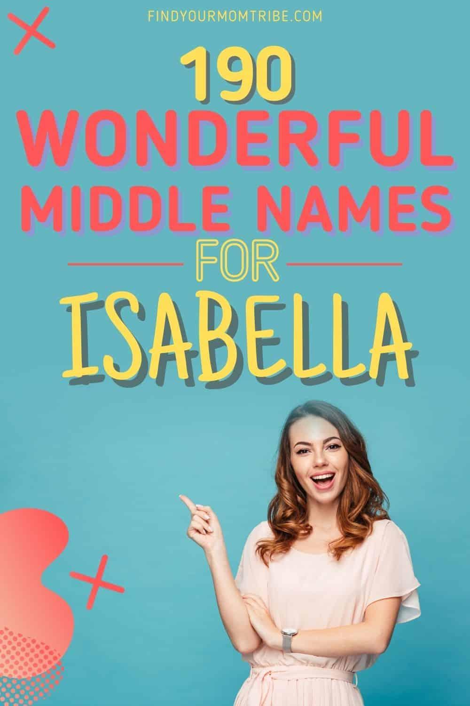 Middle Names For Isabella pinterest