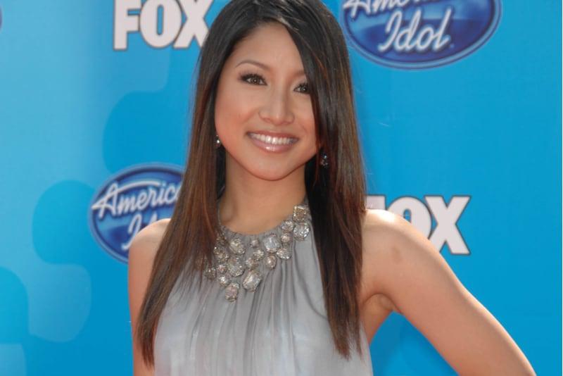 beautiful american singer Jasmine Trias