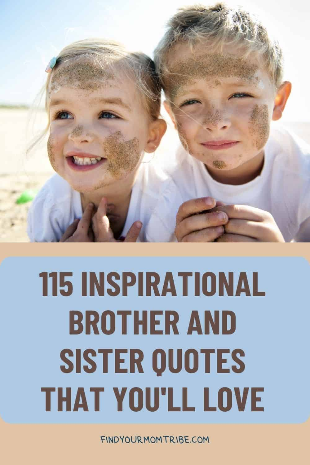 Pinterest brother and sister quotes