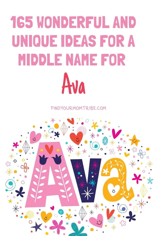 Pinterest middle name for ava