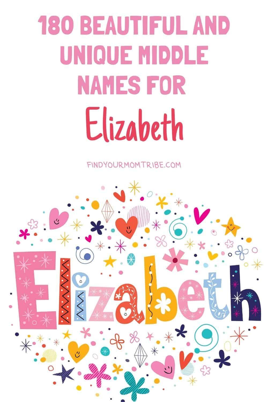Pinterest middle names for elizabeth