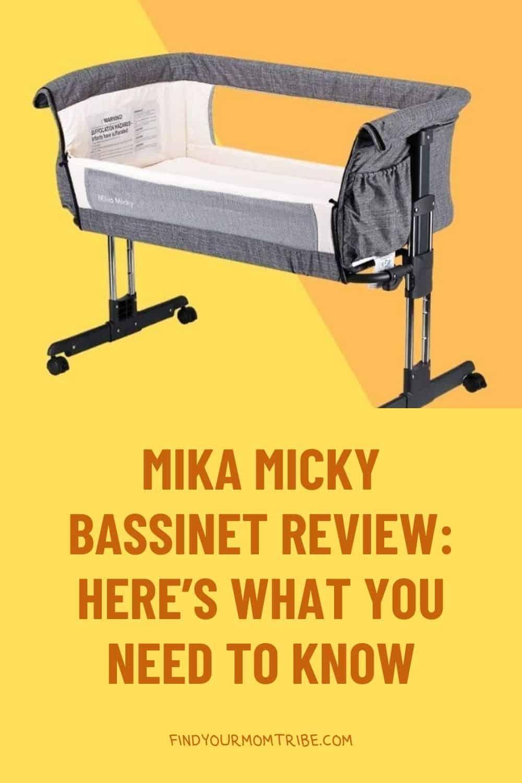 Pinterest mika micky bassinet
