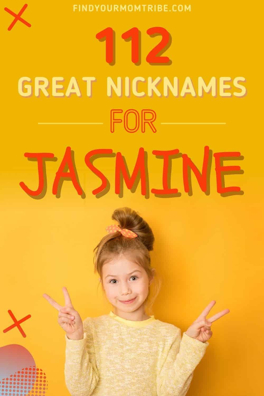 nicknames for Jasmine pinterest