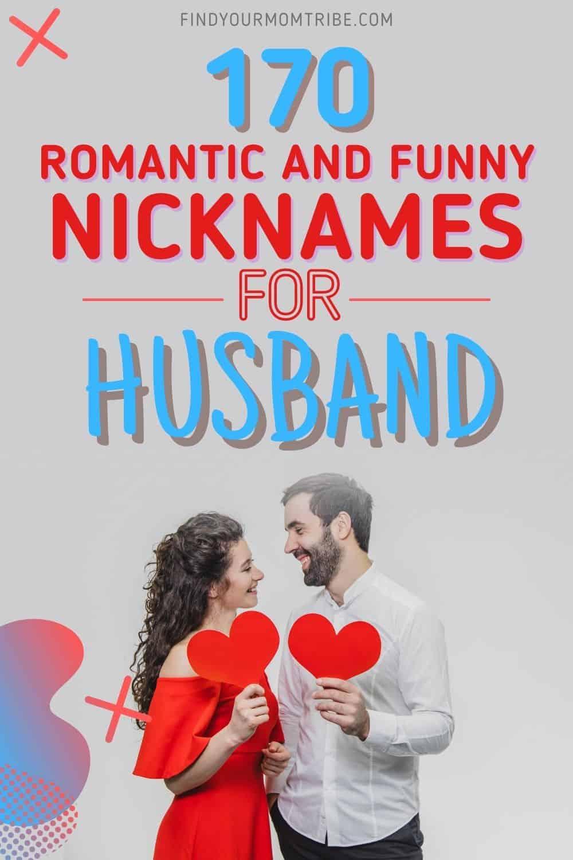 nicknames for husband pinterest