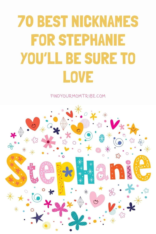 Pinterest nicknames for stephanie
