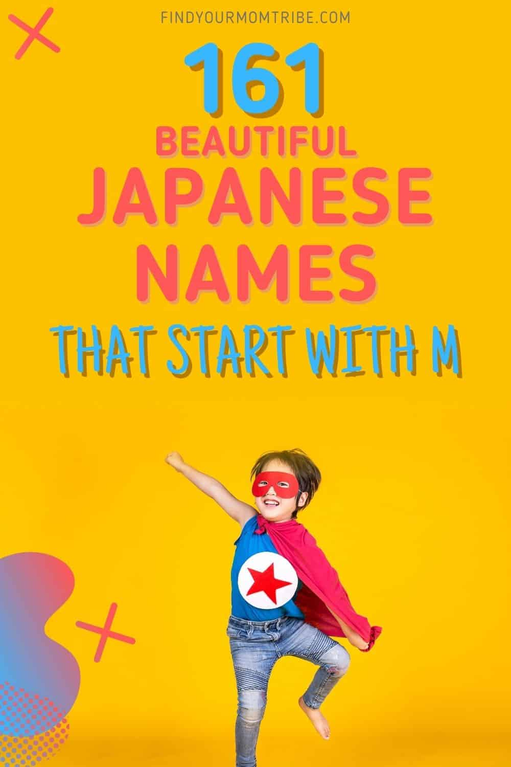 Japanese Names That Start With M pinterest
