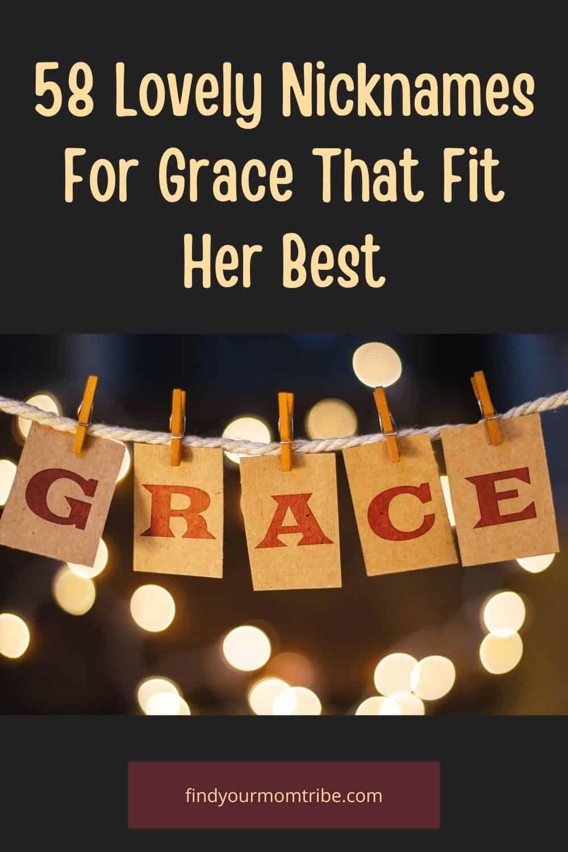 Pinterest nicknames for grace